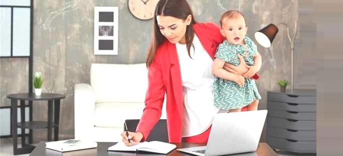 Как заработать в декрете из дома удаленно в интернете?